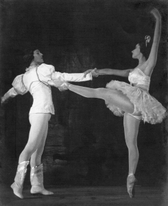 Fernando and Alicia Alonso in Sleeping Beauty. Courtesy of Fernando Alonso.