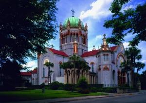 Flagler Memorial Presbyterian Church, St. Augustine, 1889-90. Carrère and Hastings, architects. Photograph 2009 by the author.