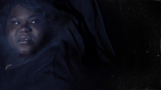 Queenie, as portrayed by Gabourey Sidibe.