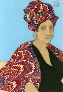 Marie Laveau as depicted