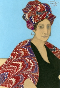 Marie Laveau as depicted
