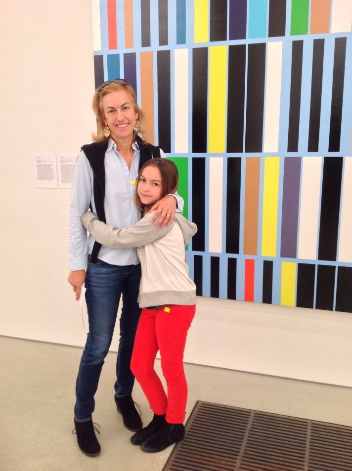 Albritton and her daughter at the Perez Art Museum in Miami.