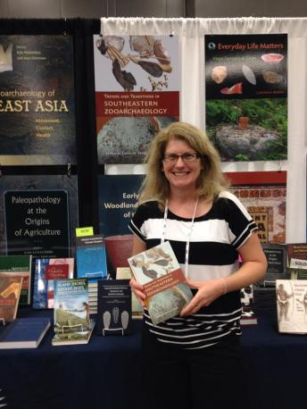 Tanya Peres and her new book, Trends and Traditions in Southeastern Zooarchaeology