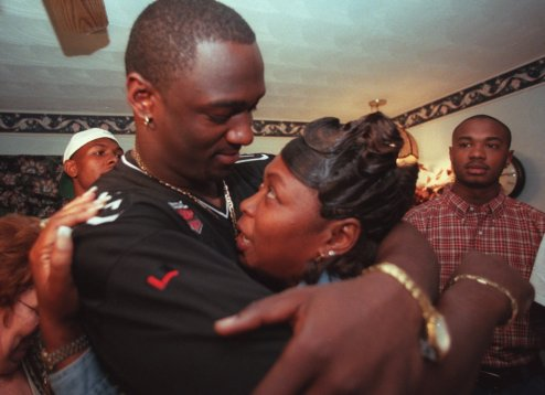 JEVON KEARSE AND MOM, LESSIE GREEN