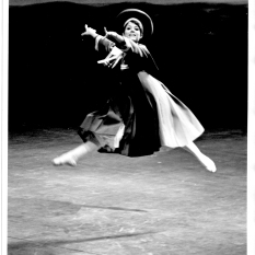 In Oklahoma! at the New York State Theater in Lincoln Center, 1969. Photo by Arks Smith.