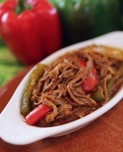 Ropa Vieja (Shredded Beef in Tomato Sauce)