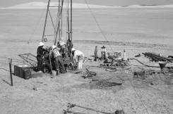 Core drilling in Qatar