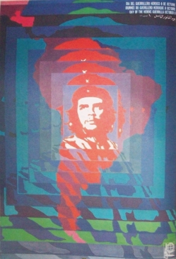 Poster by Elena Serrano commemorating the Day of the Heroic Guerilla, OSPAAAL, 1968. Source: Lincoln Cushing, Revolucion!: Cuban Poster Art (San Francisco: Chronicle, 2003).