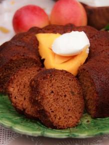 Mango cake. Credit: V Sands Photography