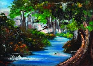 Landscape by Mary Ann Carroll
