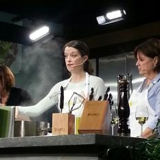 Katie Farmand cooks