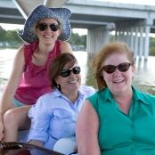 Katie Farmand, Pam Brandon, and Heather McPherson. Credit: Diana Zalucky.