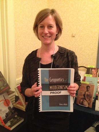 Rebecca Walsh, author of The Geopoetics of Modernism