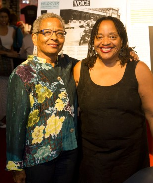 Arthe Anthony (left) and Deborah Willis at the New Orleans Film Festival. Credit: 1world1family.