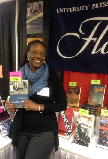 Cherisse Jones-Branch, author of Crossing the Line