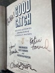 Good Catch book launch at East End Market