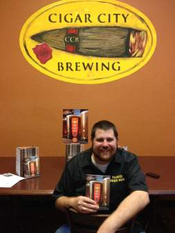 Mark DeNote at Cigar City Brewing