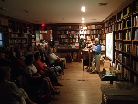 James Kushlan and Kirsten Hines at Books & Books