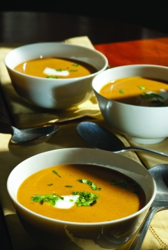 Curried Pumpkin Soup. Credit: John Rott