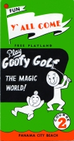 Goofy Golf at Panama City Beach, Florida