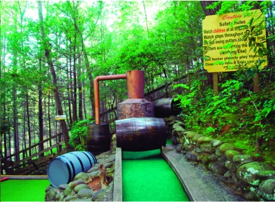 Hillbilly Golf in Gatlinburg, Tennessee