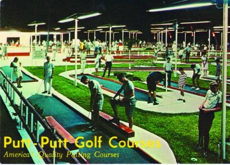 Putt-Putt Golf in Fayetteville, North Carolina