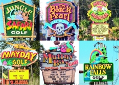 Signs in Myrtle Beach, South Carolina