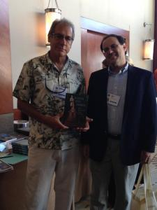 Author William Lees and Editorial Board member Uzi Baram