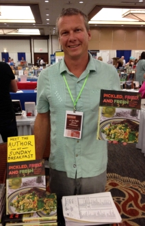 Bert Gill, author of Pickled, Fried, and Fresh