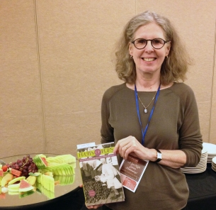 Amanda Harris, author of Fruits of Eden