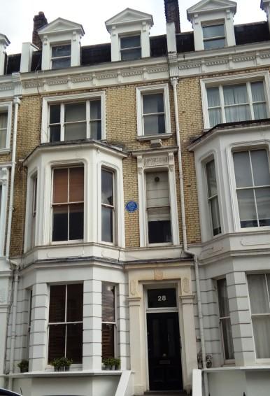 James Joyce's flat on Campden Grove