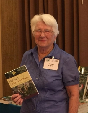 "Peggy Lantz, author of ""Florida's Edible Wild Plants"""
