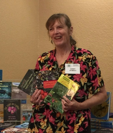 """Ginny Stibolt, author of """"The Art of Maintaining a Florida Native Landscape"""""""