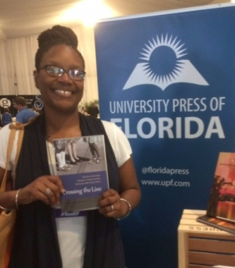 "Cherisse Jones-Branch, author of ""Crossing the Line"""