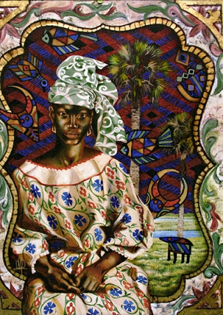 Anta Madjigine Ndiaye painting eml